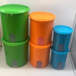 New Tupperware One Touch Reminder 6 - PC Canister